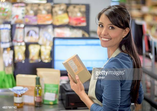 cashier stock photos and pictures getty images