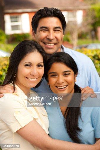Latin Family : Stock Photo
