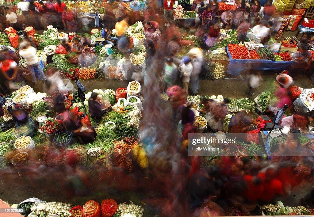 Latin Market : Stock Photo