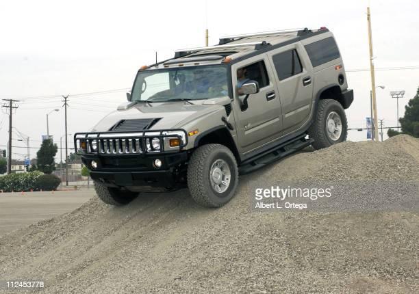 Latin star Eduardo Verastegui tests drives the Hummer H2 His latest film 'Chasing Papi' arrives on DVD August 26 2003