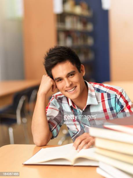 Latin young student