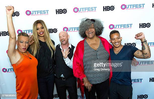 Latina transgender activist Bamby Salcedo Actress Laverne Cox Adult Film Producer Buck Angel Trans Activist Miss Major GriffinGracy and American...