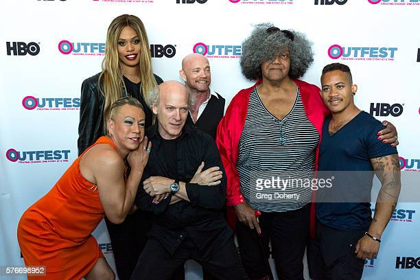 Latina transgender activist Bamby Salcedo Actress Laverne Cox Director Timonthy Greenfield Sanders Adult Film Producer Buck Angel Trans Activist Miss...