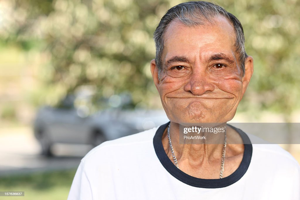 Latino Elderly Man