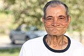 Latino Elderly Man