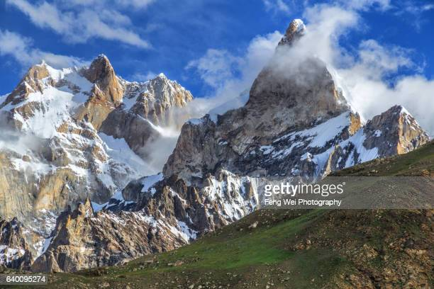 Latok Group & Baintha Brakk, Baintha To Marphogoro, Biafo Hispar Snow Lake Trek, Central Karakoram National Park, Gilgit-Baltistan, Pakistan