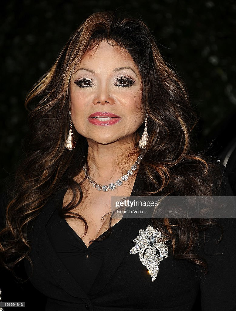 <a gi-track='captionPersonalityLinkClicked' href=/galleries/search?phrase=LaToya+Jackson&family=editorial&specificpeople=208817 ng-click='$event.stopPropagation()'>LaToya Jackson</a> attends the Topshop Topman LA flagship store opening party at Cecconi's Restaurant on February 13, 2013 in Los Angeles, California.