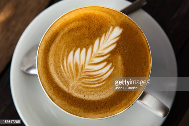 Latte art or coffee art as it is sometimes called is a method of preparing decorative coffee by pouring steamed milk into a shot of espresso and...