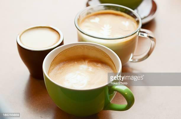 Café con leche arte