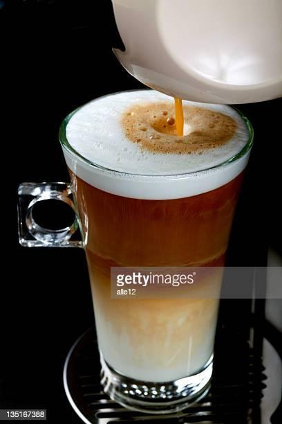 Café con leche capuchino