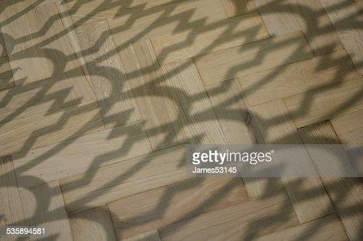 Lattice Shadows : Stock Photo