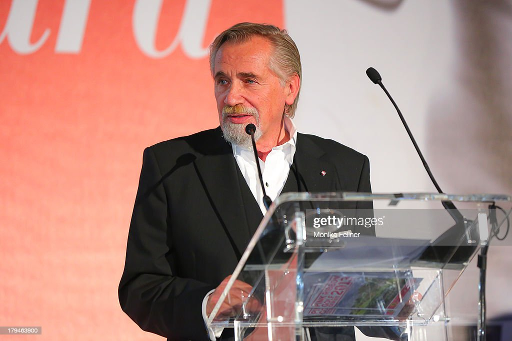Laudator Peter Rapp speaks during the Leading Ladies Awards 2013 at Belvedere Palace on September 3, 2013 in Vienna, Austria.