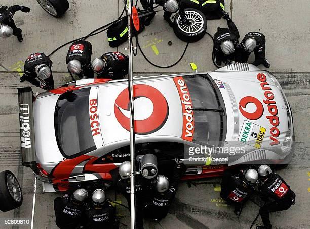 DTM 2003 3 Lauf Nuerburgring Bernd SCHNEIDER/AMGMercedes CLK