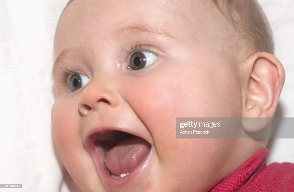 Laughing baby : Stock Photo