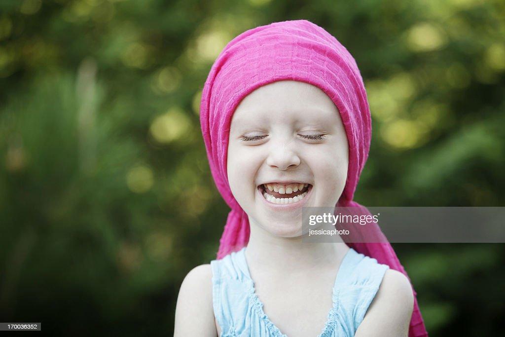 Laughing Chemo Child