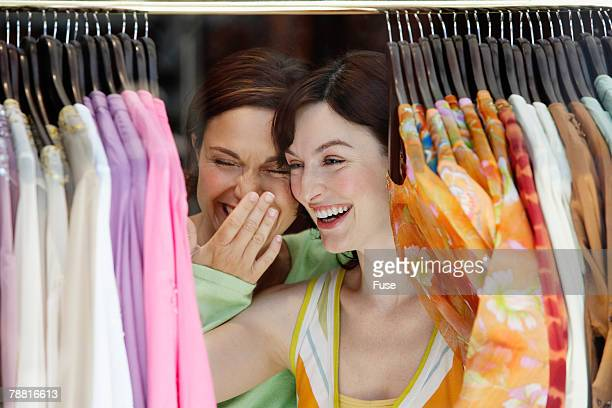Laughing Friends Shopping