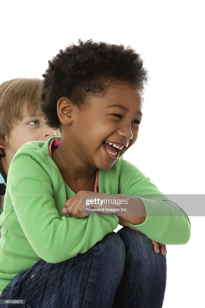 Laughing girl : Stock Photo