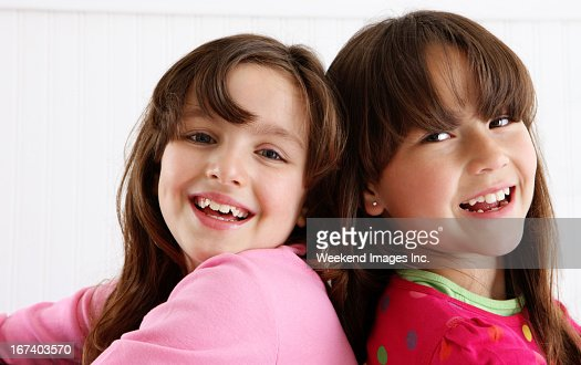 Laughing girls : Stock Photo