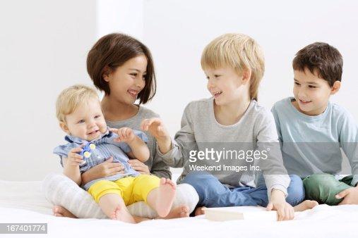 Rire les enfants : Photo