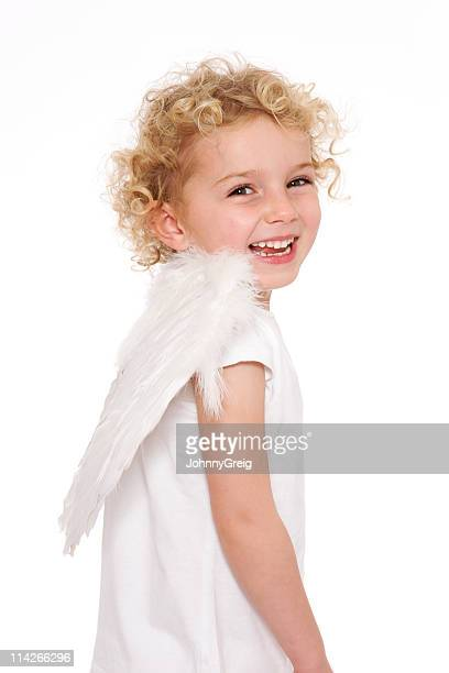 Laughing little angel