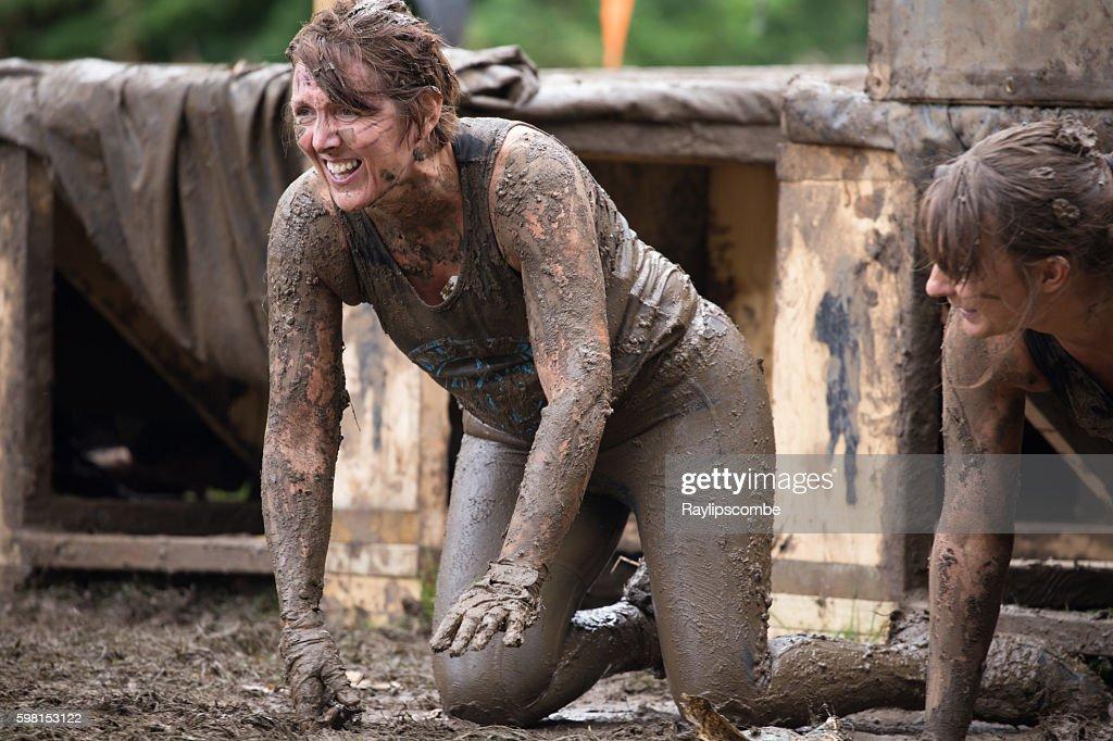 Young Woman Muddy Bath Stock Photo 18874177 - Shutterstock