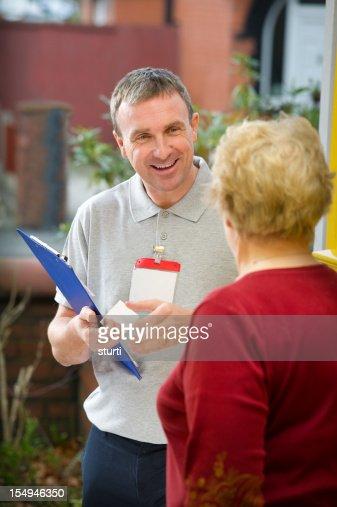 Laughing Salesman