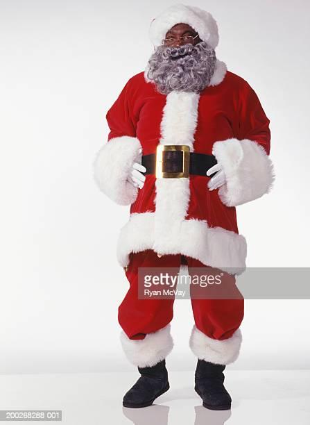 Laughing Santa Claus, portrait