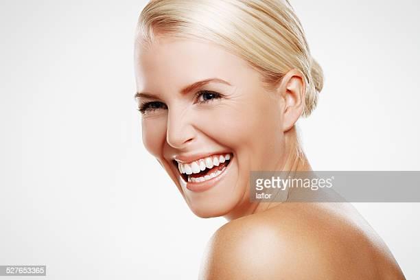 Lachen ist die besten Schönheitsbehandlungen
