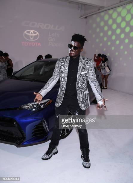 Laulo Senbanjo attends the Essence Toyota Future 15 Event at Root NYC on June 22 2017 in New York City