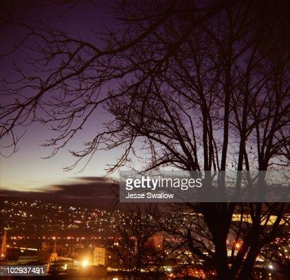 Launceston Twilight Skyline