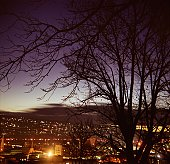 Launceston Twilight Skyline