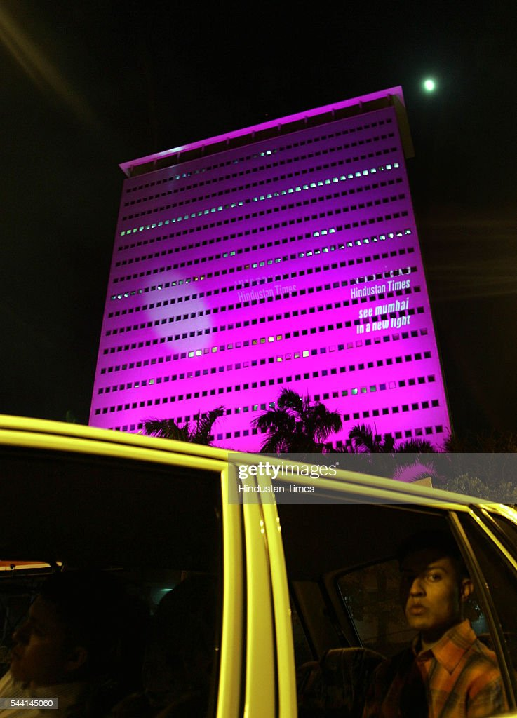 HT Launch campaign on Air India Building in Mumbai on July 16, 2005 in Mumbai, India.
