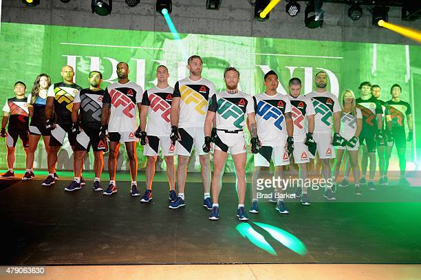 Launch Of The Reebok UFC Fight Kit at Skylight Modern on June 30 2015 in New York City