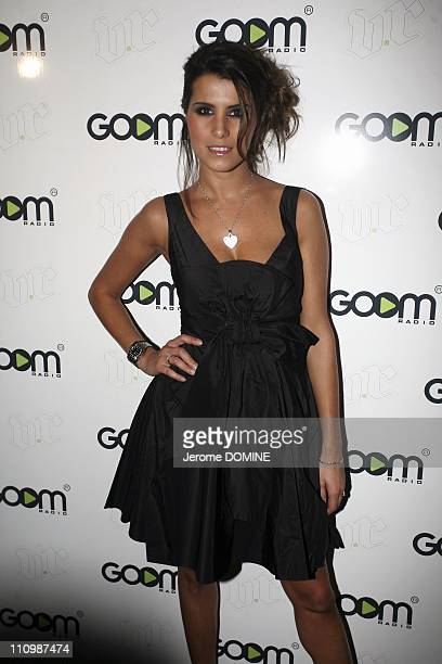 Launch Party for 'Goom Radio at Viproom in Paris France on October 16th 2008 Karine Ferri