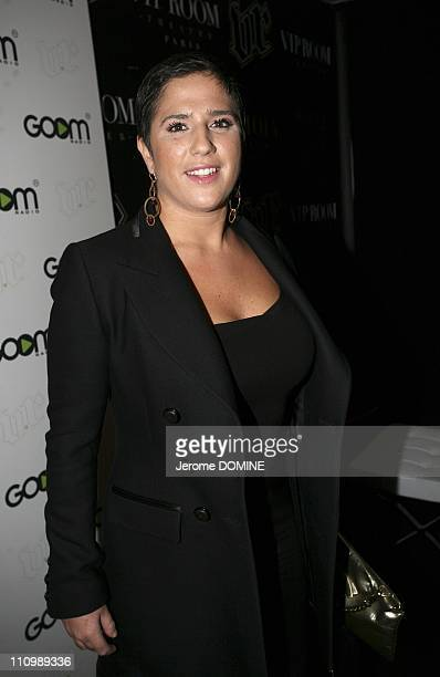 Launch Party for 'Goom Radio at Viproom in Paris France on October 16th 2008 Diam's
