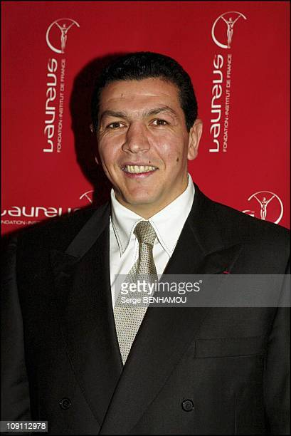 Launching Of The Cartier Sale For Laureus Foundation On January 30 2004 In Paris France Abdelatif Benazzi