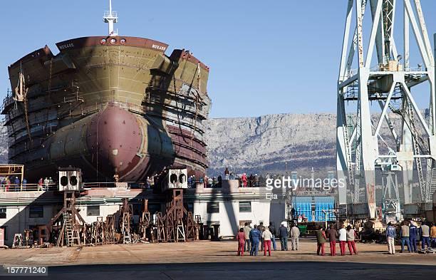 Launching of the ship