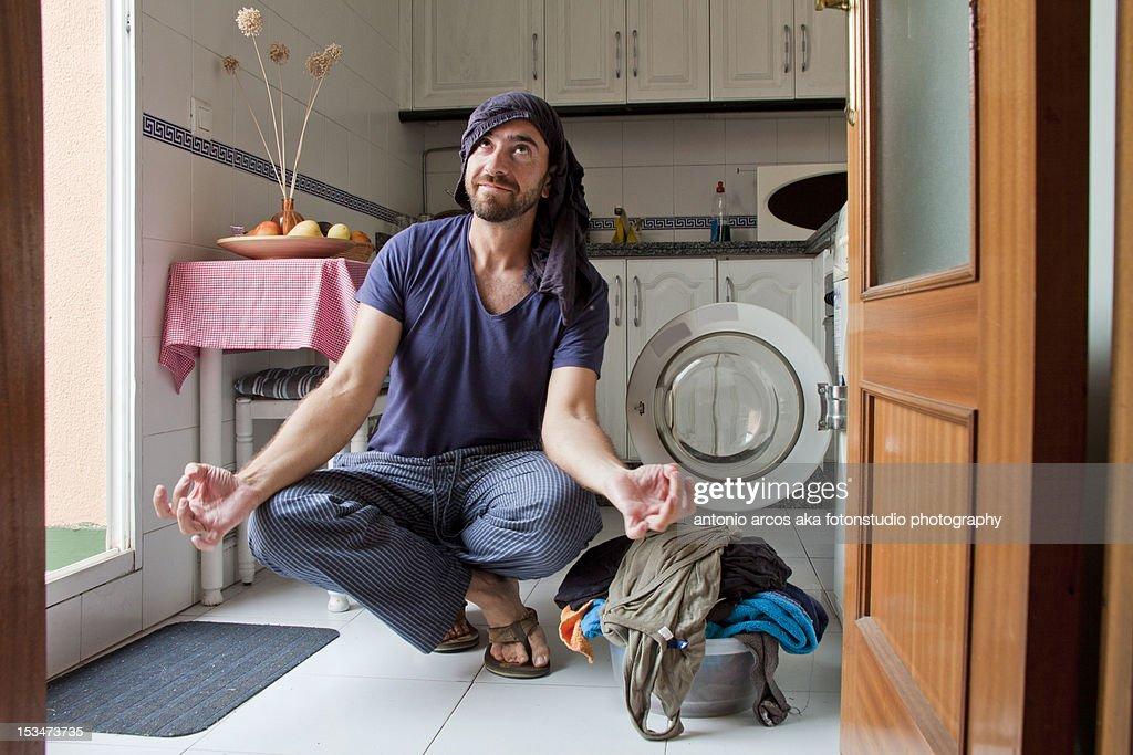 Laundry Day : Stock Photo
