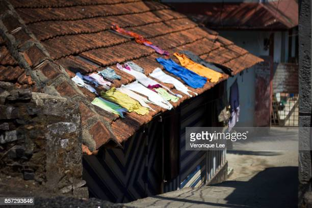 Laundry Drying in the Sun