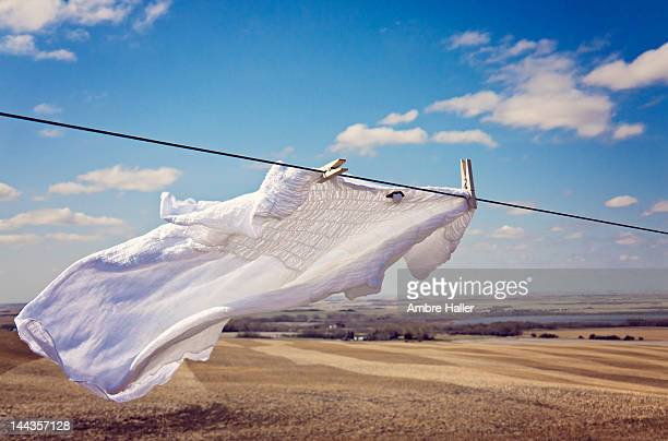 Laundry in country