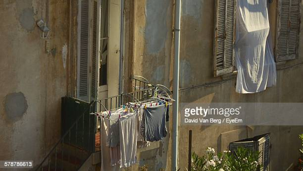 Laundry On Balcony