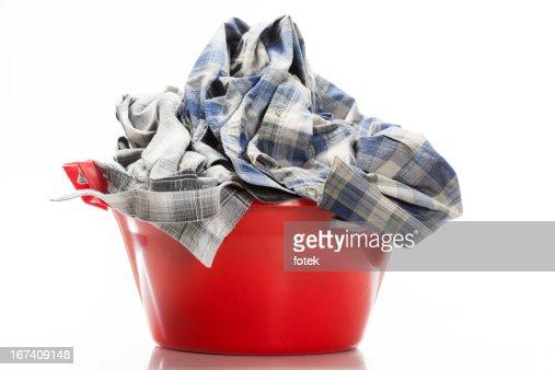 Wäscherei im Haus : Stock-Foto
