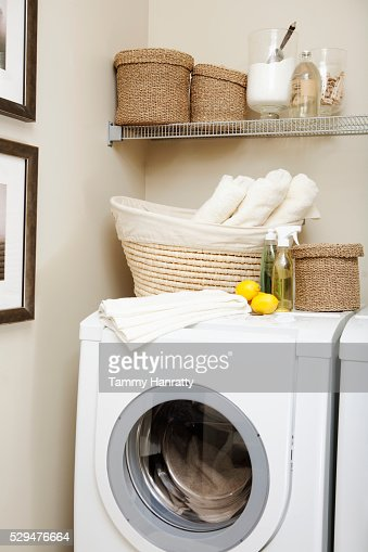 Laundry room : Foto de stock