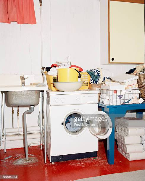 A laundry room Sweden.