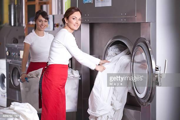 Wäscherei-service.