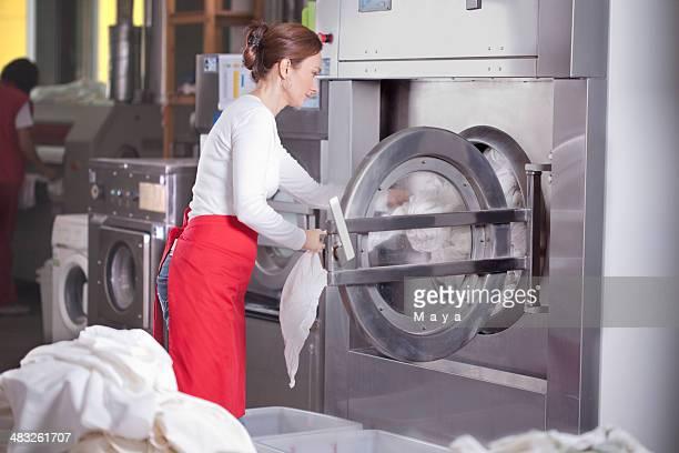 Laundry service.