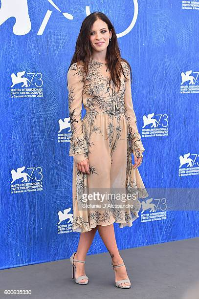 Laura Adriani attends a photocall for 'Questi Giorni' during the 73rd Venice Film Festival at Palazzo del Casino on September 8 2016 in Venice Italy