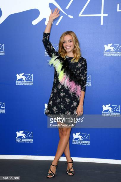 Laura Adriani attends the 'Emma ' photocall during the 74th Venice Film Festival on September 7 2017 in Venice Italy