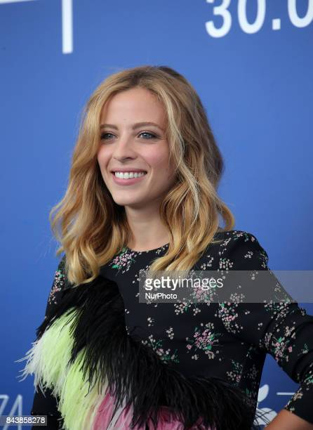 Laura Adriani attends the 'Emma ' photocall during the 74th Venice Film Festival in Venice Italy on September 7 2017