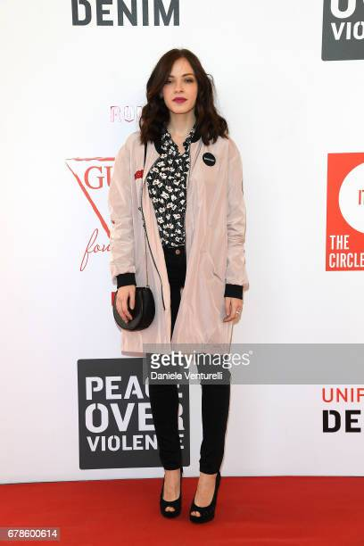 Laura Adriani attends the Guess Foundation Denim Day 2017 at Palazzo Barberini on May 4 2017 in Rome Italy
